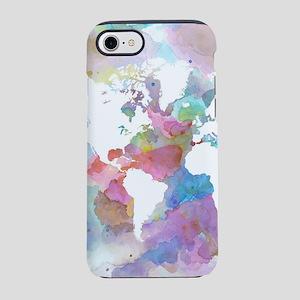 Design 48 World map iPhone 7 Tough Case