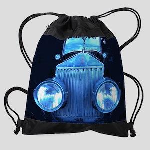 Old Rolls Royce Drawstring Bag