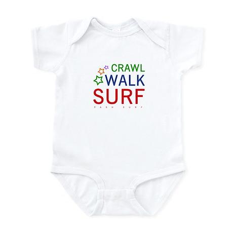 Crawl, Walk, Surf Onesie