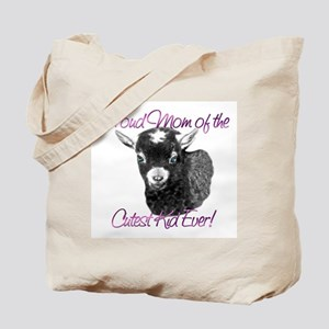 Goat Cutest Kid Ever Tote Bag