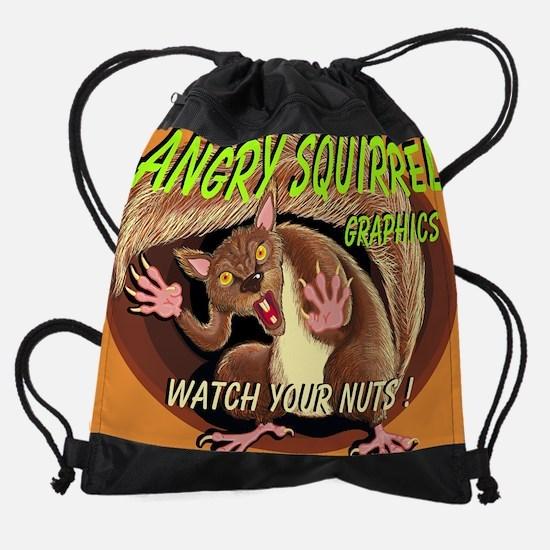 AngrySquirrel_logo_2_bak.jpg Drawstring Bag