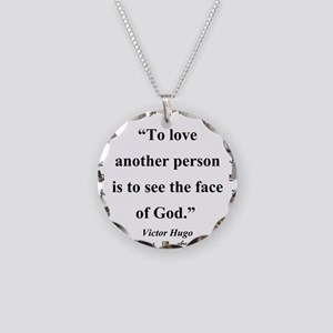 To Love Another Person - Hugo Necklace Circle Char