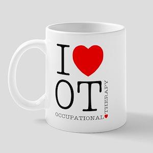 I Heart OT - Mug