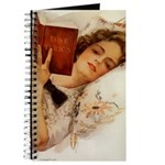 Fisher Girl Woman Reading Journal