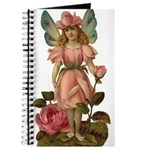 Pink Flower Fairy Journal