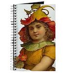 Orange Flower Fairy Journal