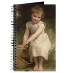 Girl with Plums Victorian Journal
