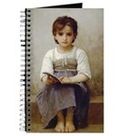 Little Girl with Book Victorian Journal