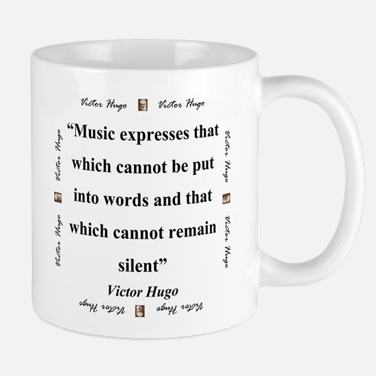 Music Expresses That Which Cannot - Hugo Mug