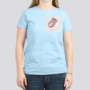 Pull-Tab Women's Light Pink T-Shirt