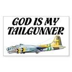 God Is My Tailgunner B-17