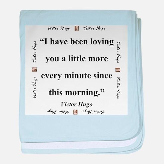 I Have Been Loving You - Hugo baby blanket