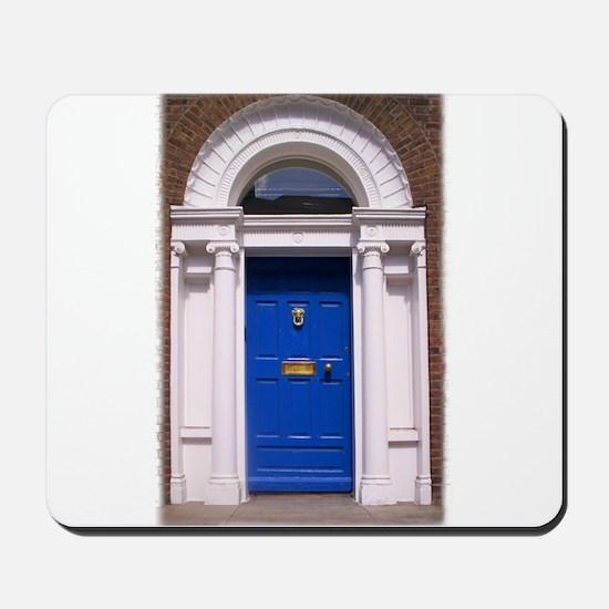 Blue Dublin Door Mousepad