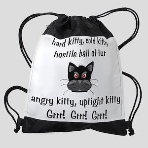 HardColdKitty Drawstring Bag