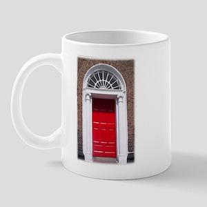 Red Dublin Door Mug