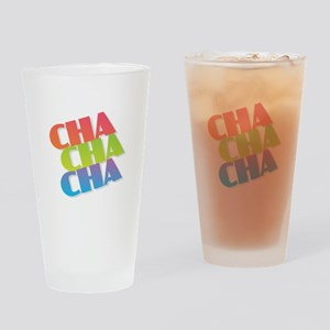 Cha Cha Cha Drinking Glass