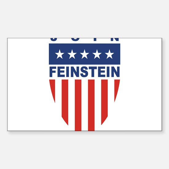 Join Dianne Feinstein Rectangle Decal