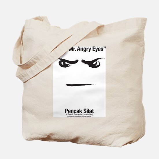 Mr. Angry Eyes Tote Bag
