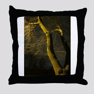 The Noise of Trees Throw Pillow
