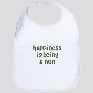 Happiness is being a NUN Bib