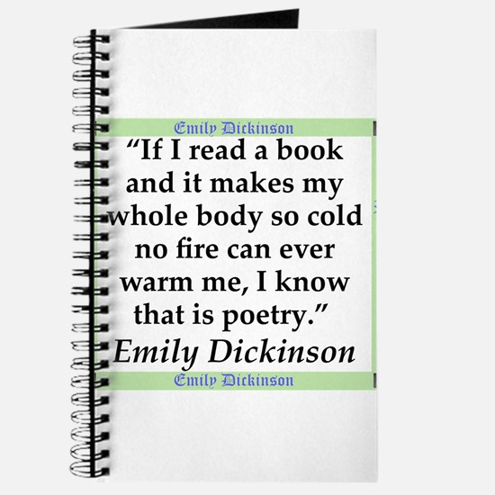 If I Read A Book - Dickinson Journal
