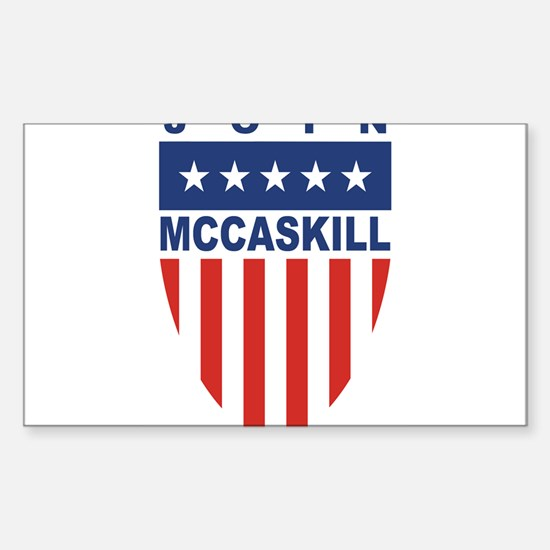 Join Claire McCaskill Rectangle Decal