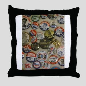 Vote 4 Me Throw Pillow
