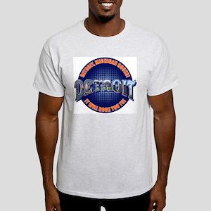 Detroit, Michigan Rocks Ash Grey T-Shirt