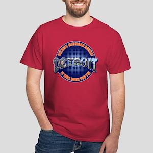 Detroit, Michigan Rocks Dark T-Shirt