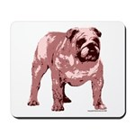 Red Bulldog Mousepad