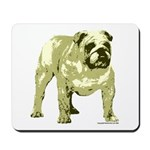 Brown Bulldog Mousepad