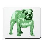 Green Bulldog Mousepad