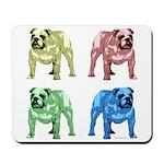 4 Tone Bulldog Mousepad