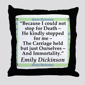 Because I Could Not Stop For Death - Dickinson Thr