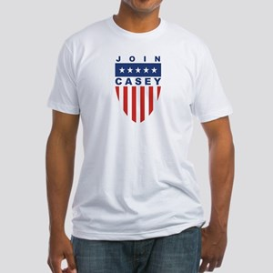 Join Bob Casey Fitted T-Shirt