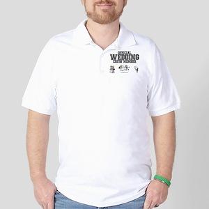 Official Wedding Crew Golf Shirt