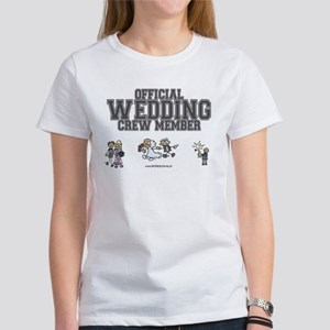 Official Wedding Crew Women's T-Shirt