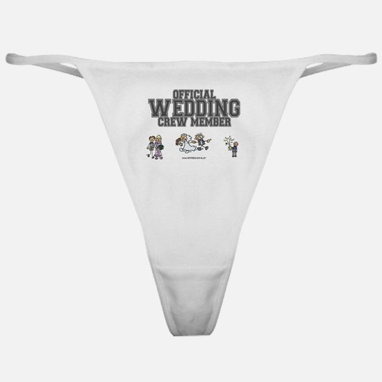 Official Wedding Crew Classic Thong