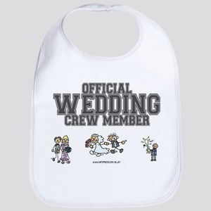 Official Wedding Crew Bib