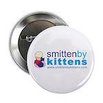 """Smitten By Kittens 2.25"""" Button (100 pack)"""