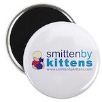 """Smitten By Kittens 2.25"""" Magnet (100 pack)"""