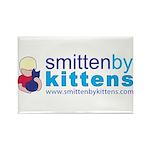 Smitten By Kittens Rectangle Magnet (100 pack)