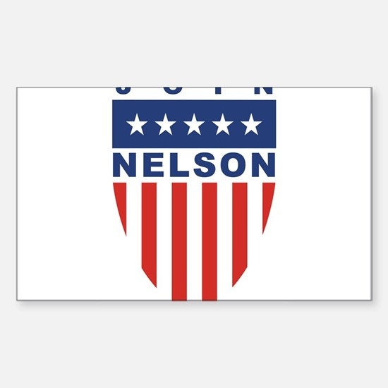 Join Bill Nelson Rectangle Decal