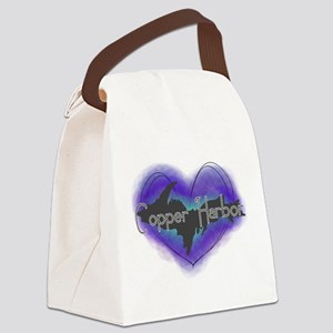 Aurora Copper Harbor Canvas Lunch Bag
