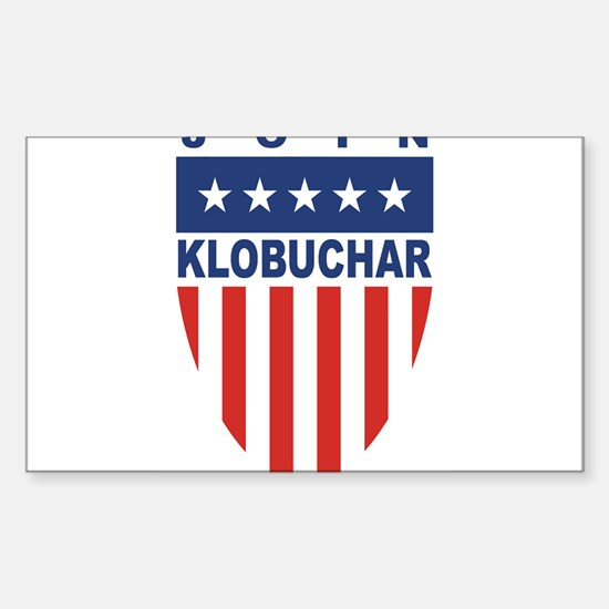 Join Amy Klobuchar Rectangle Decal