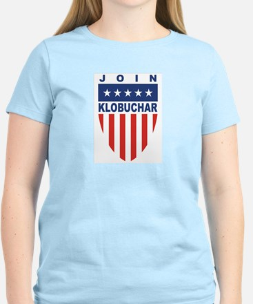 Join Amy Klobuchar Women's Pink T-Shirt