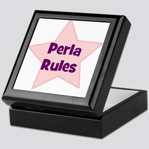 Perla Rules Keepsake Box