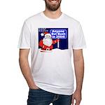 Santa Ho Ho to Bush T-shirt (Made in the