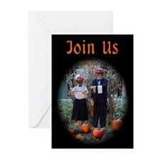 Halloween / Autumn Gathering Invitations