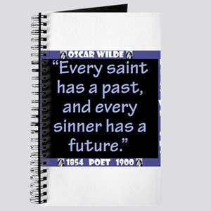 Every Saint Has A Past - Wilde Journal